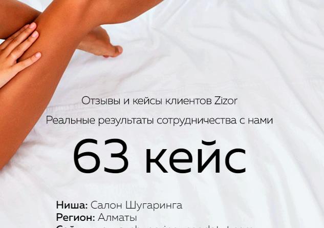 Кейс № 63 Салон шугаринга (Казахстан)
